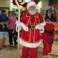 Chegada de Papai Noel em Shopping - Tijuca