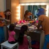 Fazendo a alegria das princesas