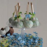 Cake pops chá de Bebe