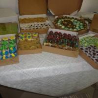 Trufas e doces diversos