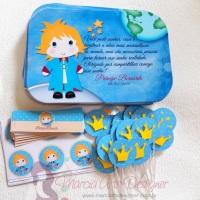 Papelaria personalizada Pequeno Príncipe