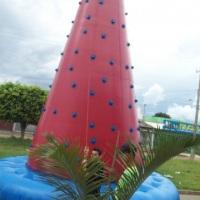 escalada inflável