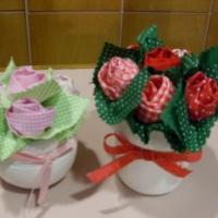 lembrancinhas de vasinhos de rosas