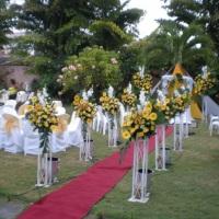 Venha realizar seu evento aqui como este casamento que ficou maravilhoso.