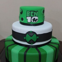 Maquete Ben 10 - By Mariart's
