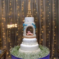 Bolo Fake Casamento, 15 anos e batizado
