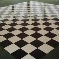 piso quadriculado