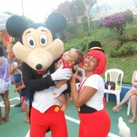 Mickey-Personagem vivo