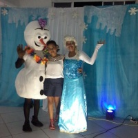 Frozen Olaf /Personagen vivo