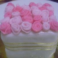 Minibolo bouquet de rosas