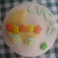Cupcake batizado/lembrancinha da maternidade