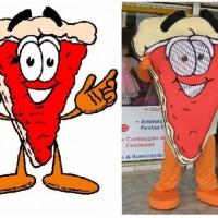 Mascote Pizza - Goiania - GO