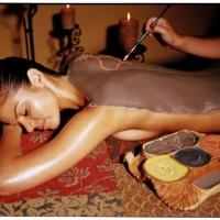 Massagem com chocolate