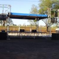 palco coberto