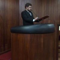 MCER EM EVENTO DA POLICIA FEDERAL NO AUDITÓRIO DA OAB-GOIANIA-GO