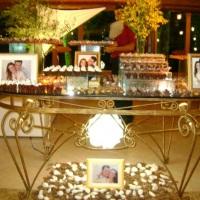 Mesa de doces-Casamentos