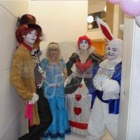 Animação de festa com Alice no País das Maravilhas #animação #festa #Alice #recreação #megafest