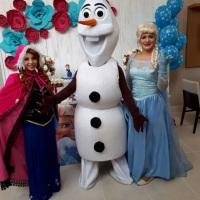 Animação de festa com Frozen #animação #festa #Frozen #recreação #megafest