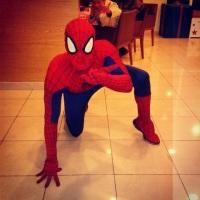 Animação de festa com o Homem Aranha #animação #festa #Homem Aranha #recreação #megafest