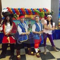 Animação de festa com Jake e os piratas #animação #festa #jake #piratas #recreação #megafest