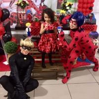 Animação de festa com o Miraculous #animação #festa #miraculous #lady bug #cat noir #recreação #meg