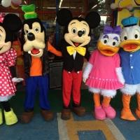 Animação de festa com a Turma do Mickey #animação #festa #mickey #recreação #megafest