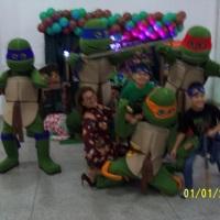Animação de festa com as Tartarugas Ninja #animação #festa #tartaruga #recreação #megafest
