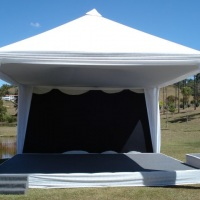 Tenda 5x5 decorada