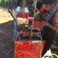 Barraca de mini hambúrguer Sétima Festas e Eventos