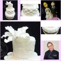 Curso de bolo de casamento moderno dias 10 a 13 de março. Informações: whtsapp-(81)-89403030 mirel