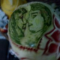 Desenho em Frutas