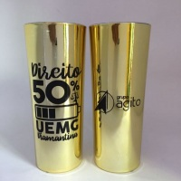 Long Drink Metalizado Dourado