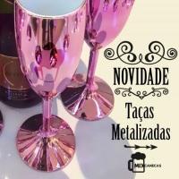 Taça Metalizada Rosa