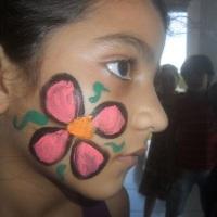 Nossas pinturinhas faciais são show! O material usado é de primeira, Tintas anti-alérgicas e de fáci