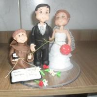 Topo se casamento personalizado