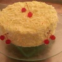 Torta floresta Branca