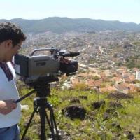 gravando imagens da cidade