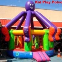 Kid Play Polvo um Pula pula gigante com obstáculos em forma de golfinhos Diâmetros 5.00 x 5.00 metro