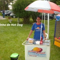 Carrinhos de Hot-dogs alugamos só o Carrinho ou com os produtos e Monitor