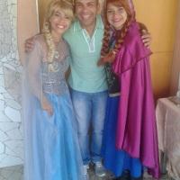 Elsa e Anna! No Mundo da Katty  98103-7220