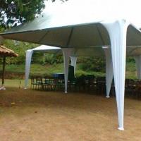 tenda semi decorada