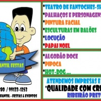 Animação 5 estrelas na cidade de Ribeirão Preto, SP (16) 3019 0280