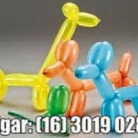 Fazemos lindas Esculturas em balões! As crianças ama isso!!! (16) 3019 0280  /  99133 1253