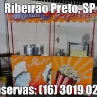 Algodão doce e Pipoca para FESTAS! (16) 3019 0280