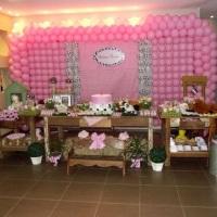 Decoração infantil fazendinha rosa