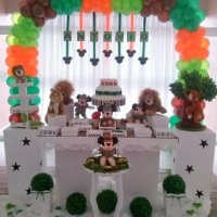 DECORAÇÃO SAFARY DO MICKEY 