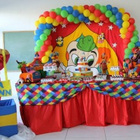 DECORAÇÃO CIRCO 