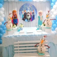 DECORAÇÃO FROZEN 