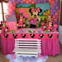 DECORAÇÃO DA MINNIE 