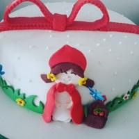 bolo tema chapeuzinho vermelho